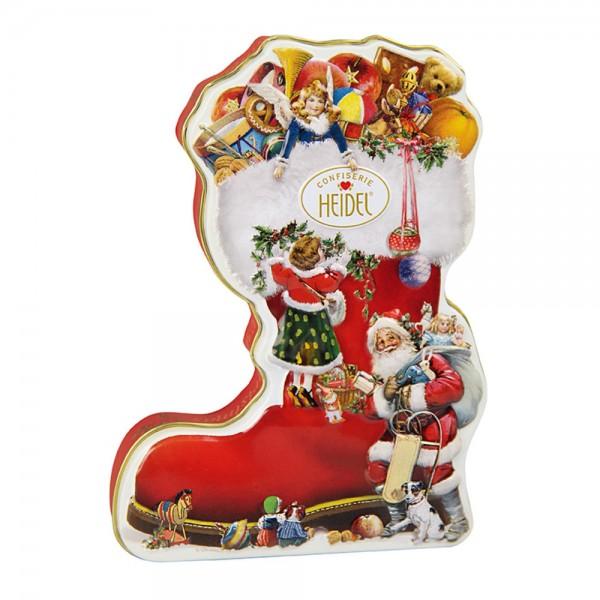 Weihnachts-Nostalgie Geschenkdose Weihnachtsstiefel