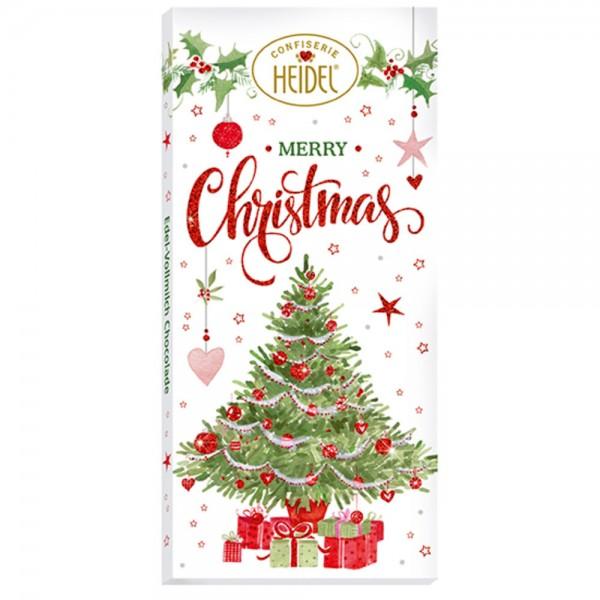 Weiße Weihnacht Choco-Grüße