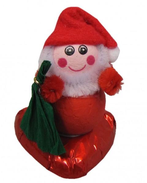 Weihnachtsmann auf Herz