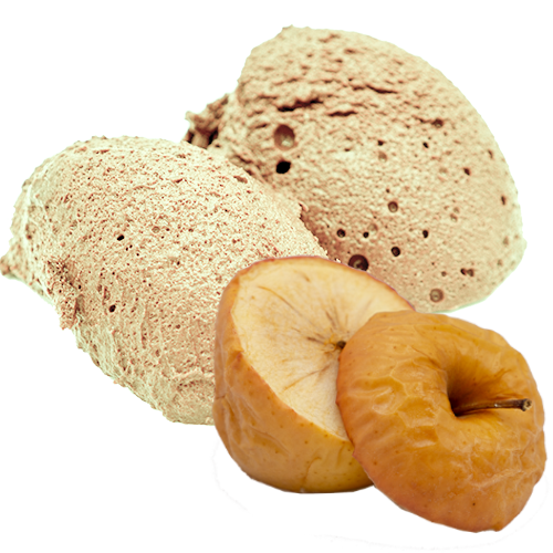 Creme Dessert Bratapfel