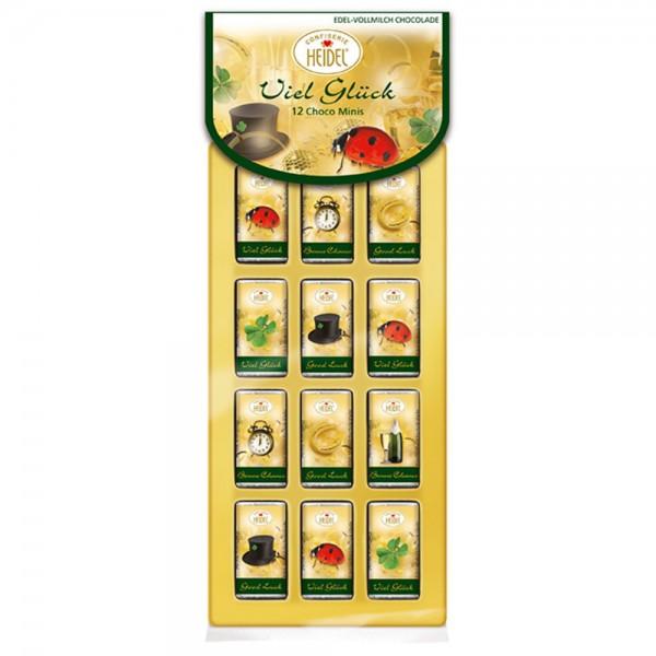 """""""Viel Glück"""" 12er Choco-Minis"""