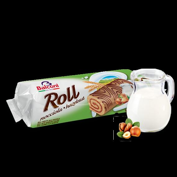 Bisquit-Rouladen Roll nocciola hazelnut