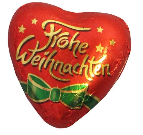 Herz Frohe Weihnachten