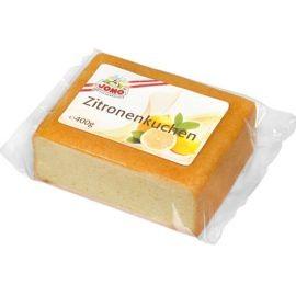 Blockkuchen Zitrone