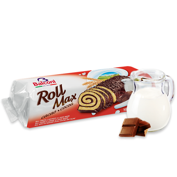Bisquit-Rouladen Roll Max cacao cocoa