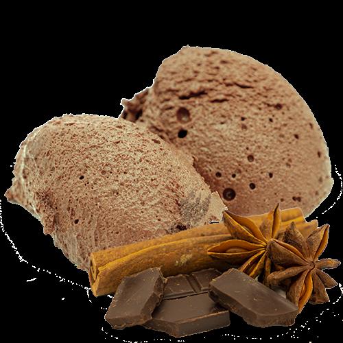 Mousse Dessert Lebkuchen-Choco -gelatinefrei-