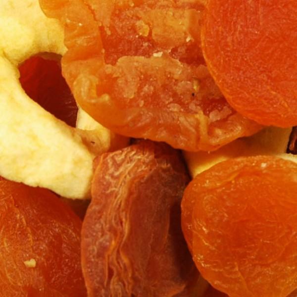 Trockenfrucht Mischobst ohne Pflaumen (Sondermischung)