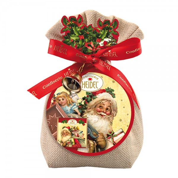 Weihnachts-Nostalgie Geschenk-Säckchen