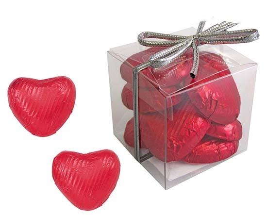 """Geschenkpackungen-""""Pop-Hearts"""" rot"""