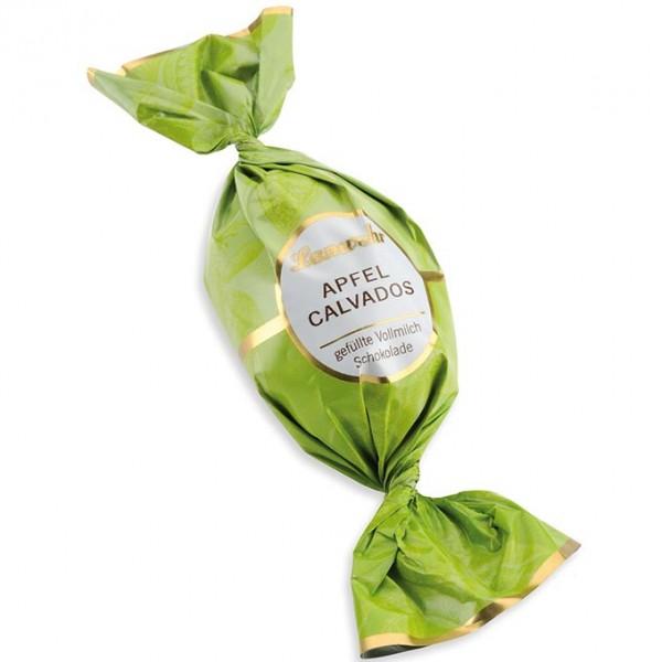 Apfel-Calvados-Trüffel Vollmilch