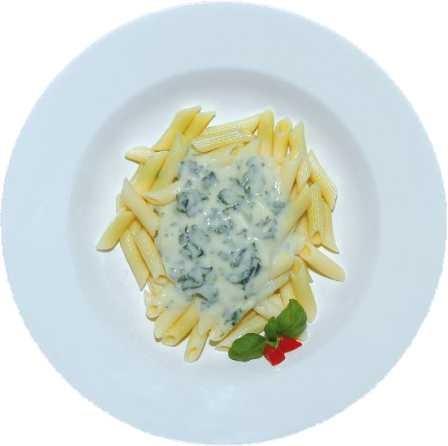 Formaggio e Spinaci Käse-Spinat-Sauce