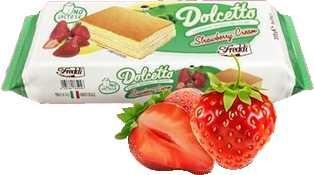 Biskuitschnitten Erdbeer laktosefrei