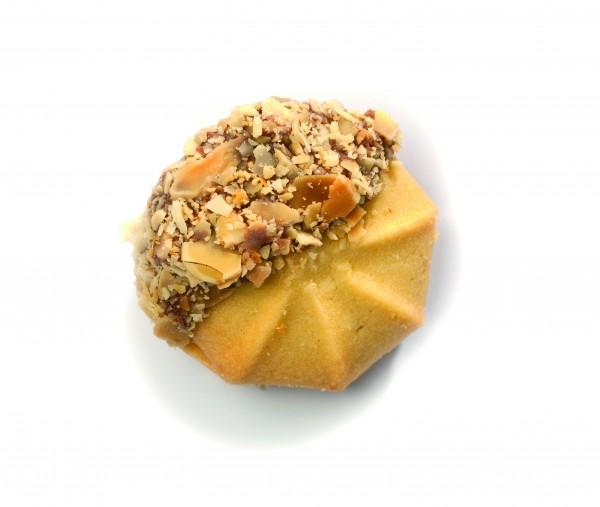 Confiserie-Gebäck - Butter-Nougat-Muscheln