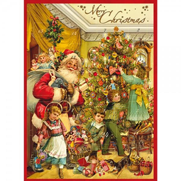 Weihnachts-Nostalgie Adventskalender