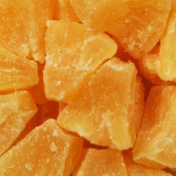 Trockenfrucht Ananas Stücke
