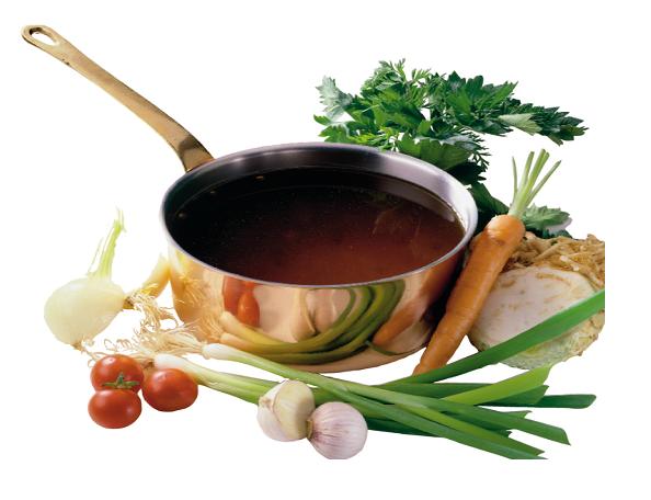 Gemüsebouillon mit Sichtgemüse - deklarationsfrei, ohne Hefe-Extrakte