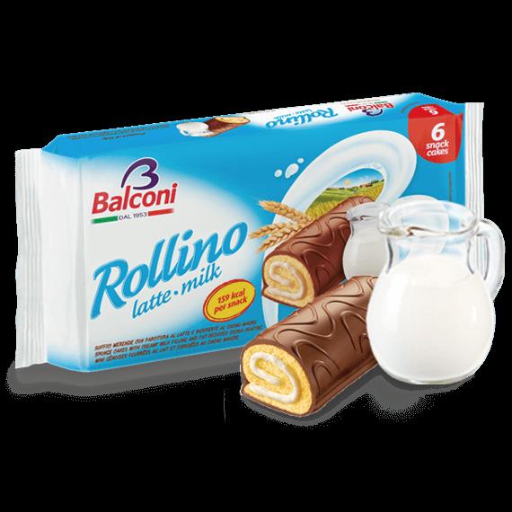 Orig. ital. Biskuitrolle Rollino latte milk