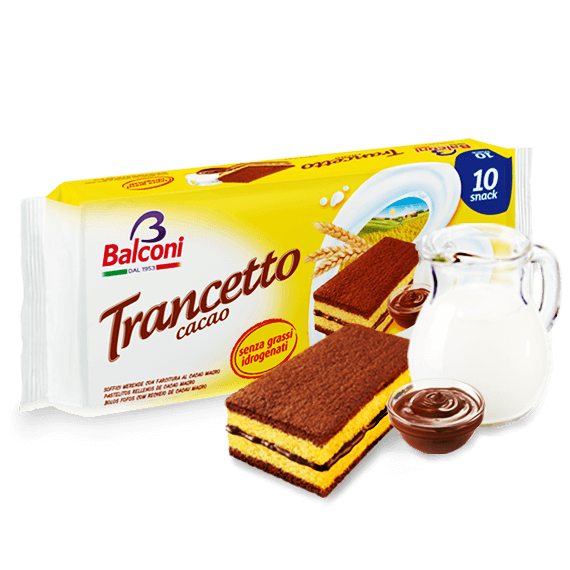 """Ital. Kleinkuchen """"Trancetto"""" Kakao"""