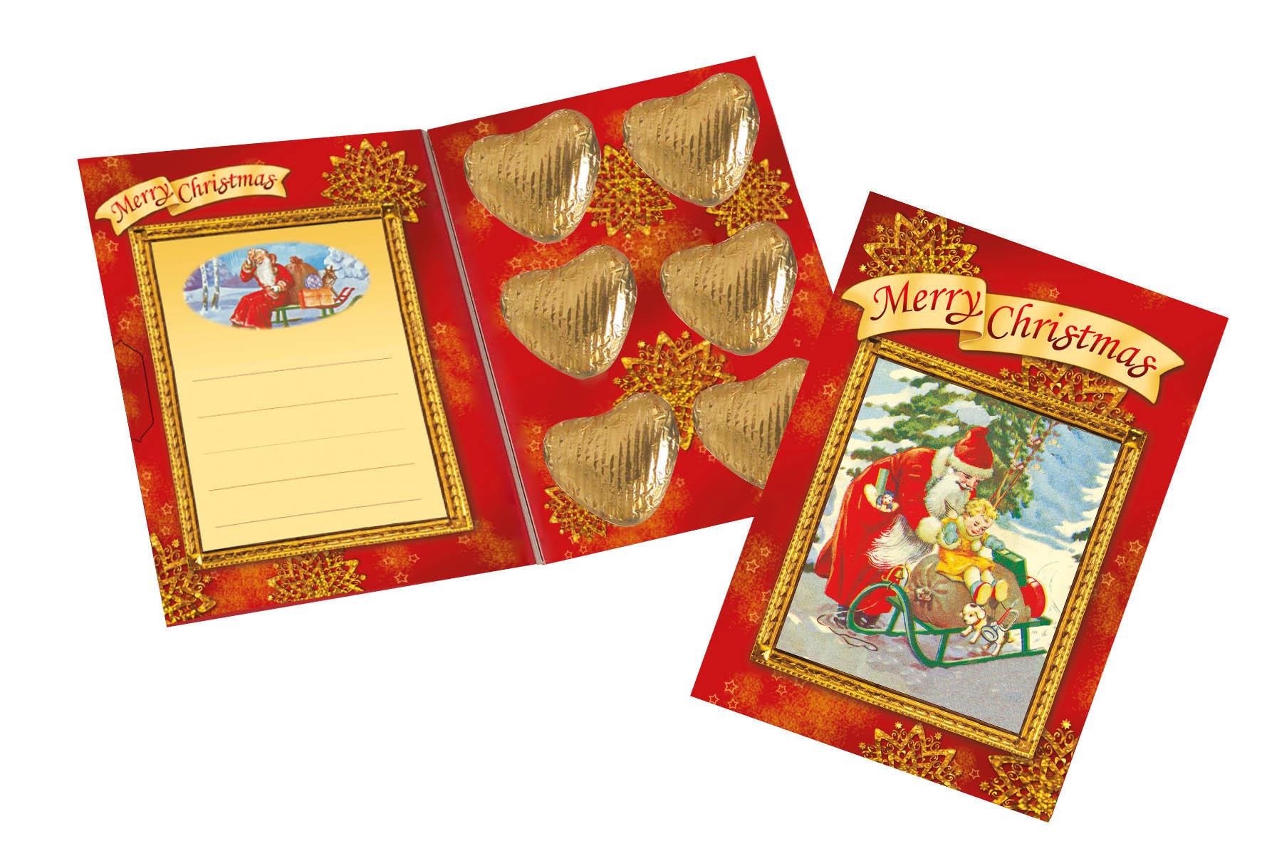 Grußkarte Weihnachten Nostalgie | SICCA-NAHRUNGSMITTEL
