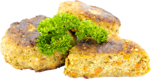 Knusprige Quinoa-Patties