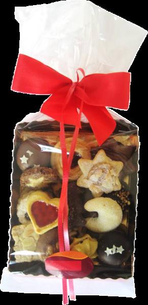 Confiserie-Gebäck - Weihnachtsmischung - 300 g Schale
